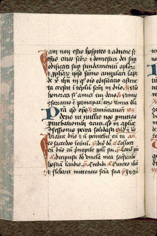 Diurnal à l'usage d'Arras - Initiales de couleur ornées_0