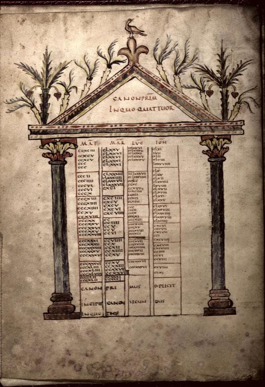 Evangiles - Page décorée_0