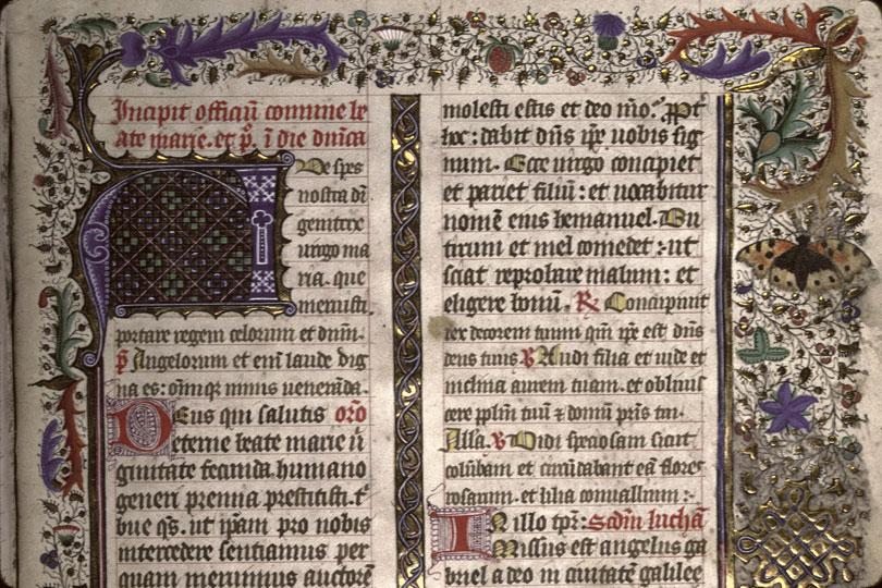 Missel - Page décorée_0