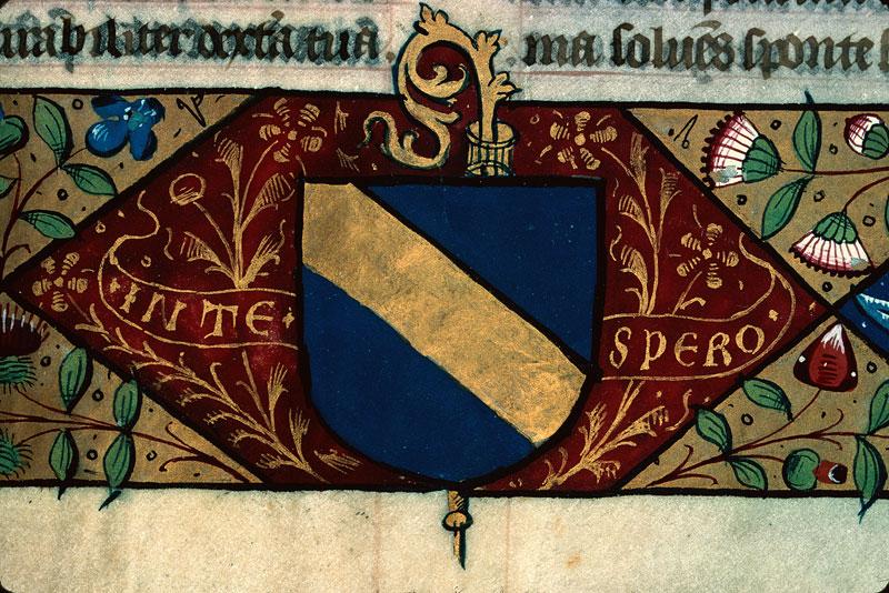 Missel - Armes de Pierre de Juys, évêque de Mâcon_0