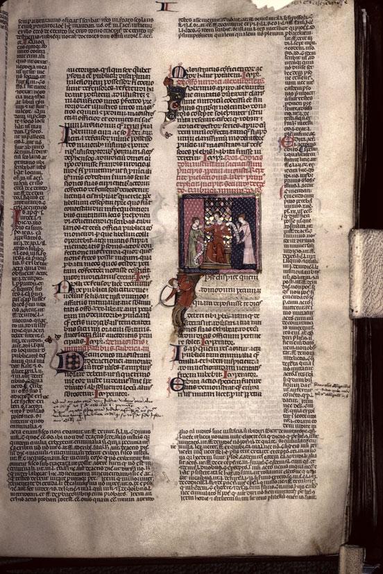 Codex Justinianus - Juge traitant une exception juridique_0