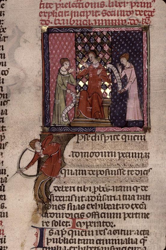 Codex Justinianus - Centaure tirant à l'arc_0