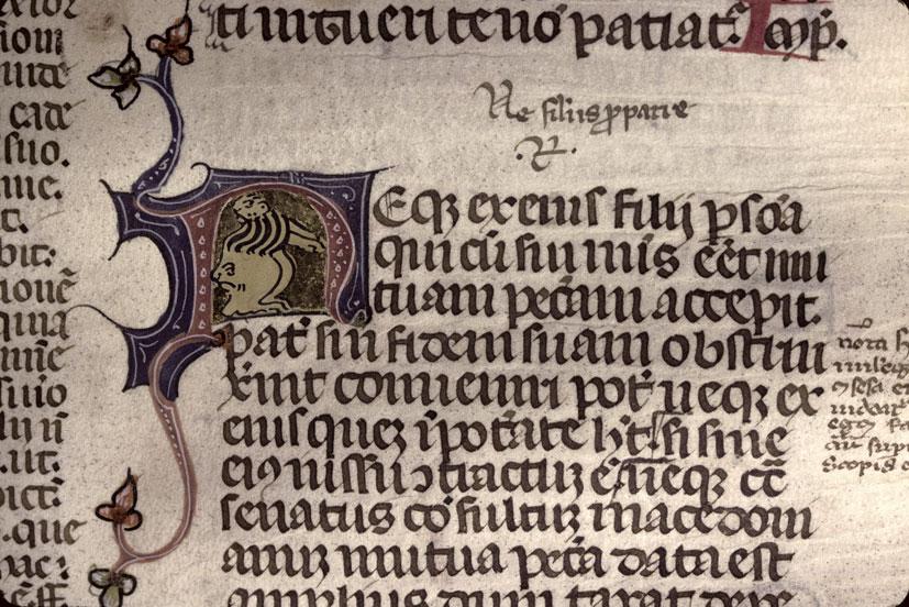 Codex Justinianus - Hybride zoomorphe_0