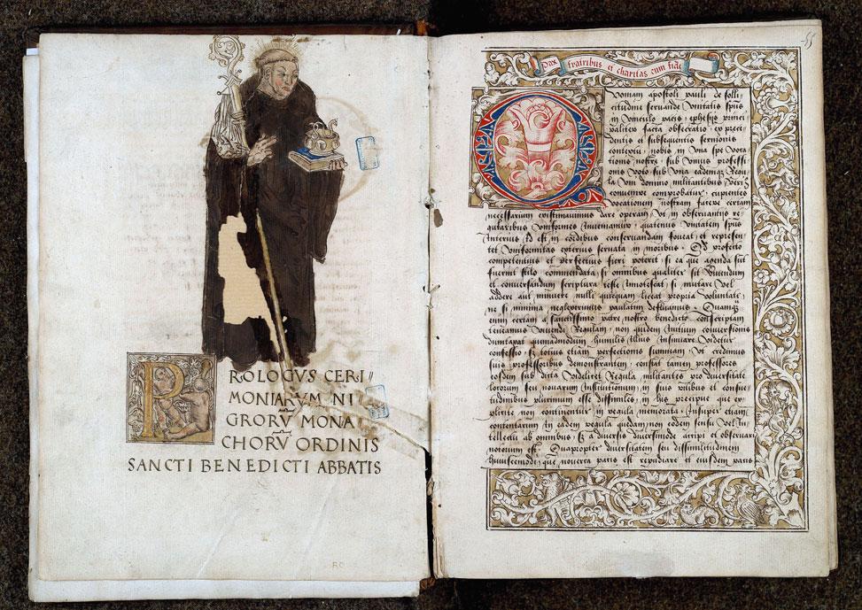 Cérémonial à l'usage de l'abbaye de Saint-Amand/Ordinaire à l'usage de l'abbaye de Saint-Amand
