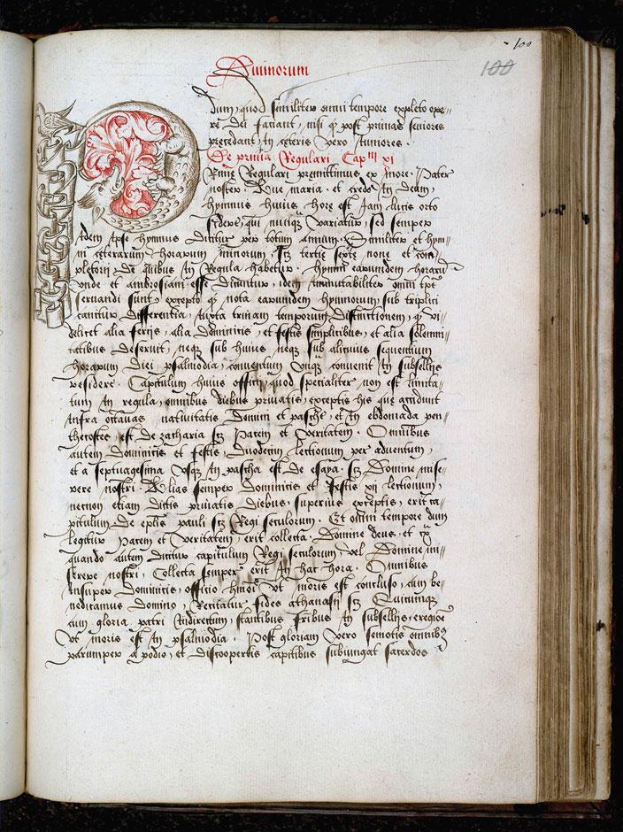 Cérémonial à l'usage de l'abbaye de Saint-Amand/Ordinaire à l'usage de l'abbaye de Saint-Amand - Hybride zoomorphe_0