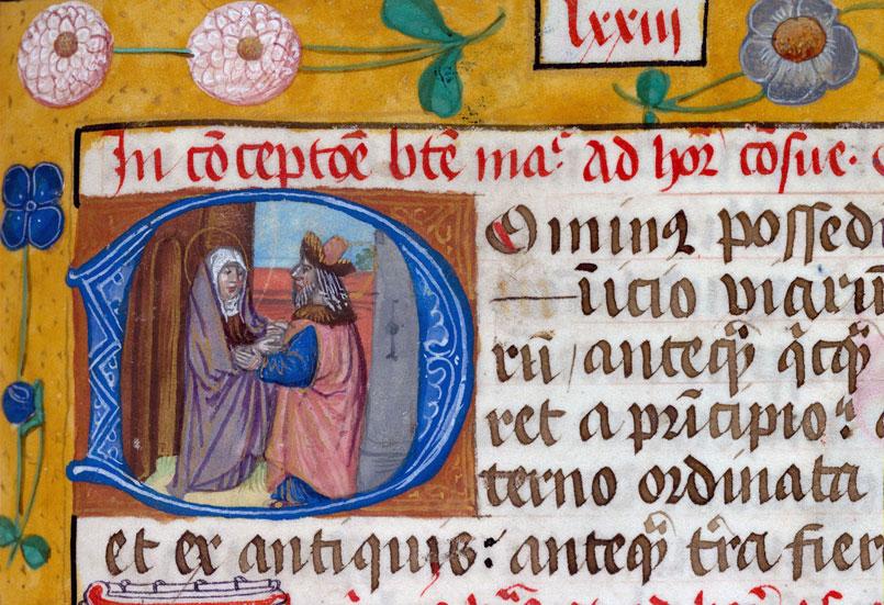 Collectaire - Rencontre de Joachim et Anne à la Porte d'or_0