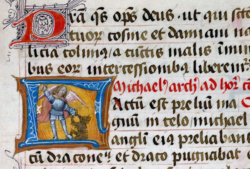 Collectaire - Saint Michel terrassant le diable_0