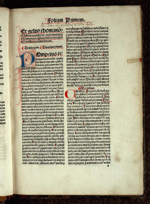 Gesta Romanorum - Initiale filigranée_0
