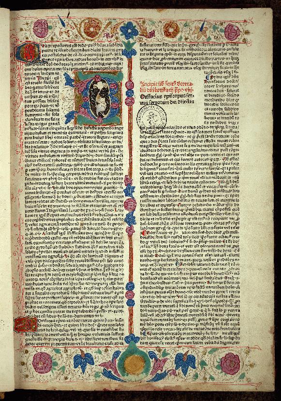 Liber sextus Decretalium - Page décorée_0