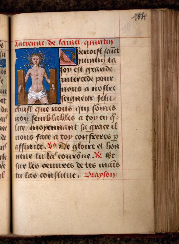 Recueil de prières - Martyre de saint Quentin_0