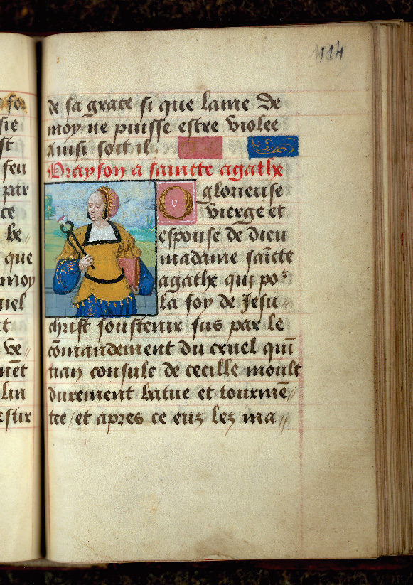 Recueil de prières - Sainte Agathe_0