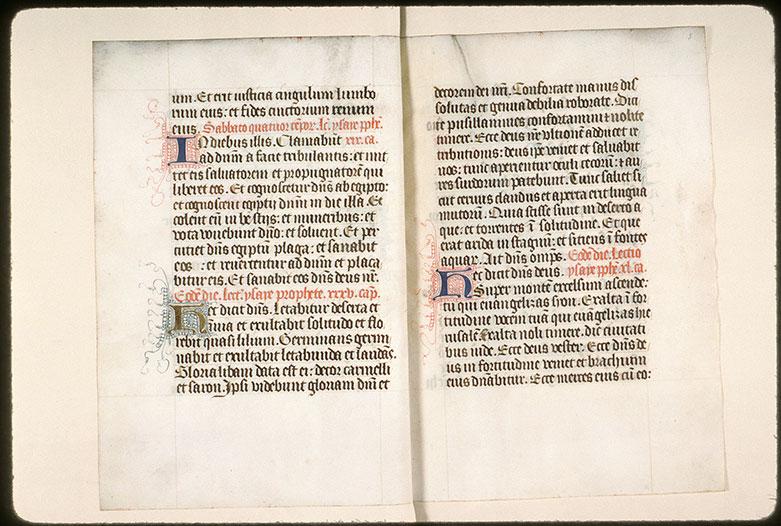Epistolier à l'usage des ermites de saint Augustin d'Amiens - Initiales filigranées_0