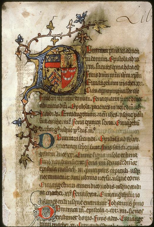 Bible (partie de) - Armes d'Etienne de Conty_0