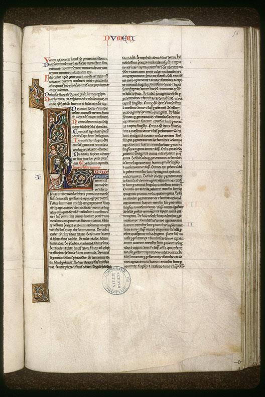 Bible (partie de) - Dieu parlant à Moïse dans le Sanctuaire_0