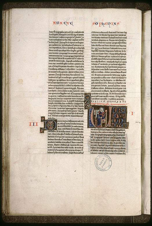 Bible (partie de) - Sophonie lisant_0