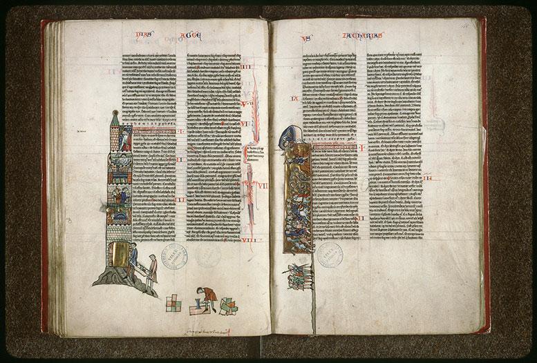 Bible (partie de) - Darius et la reconstruction du Temple_0