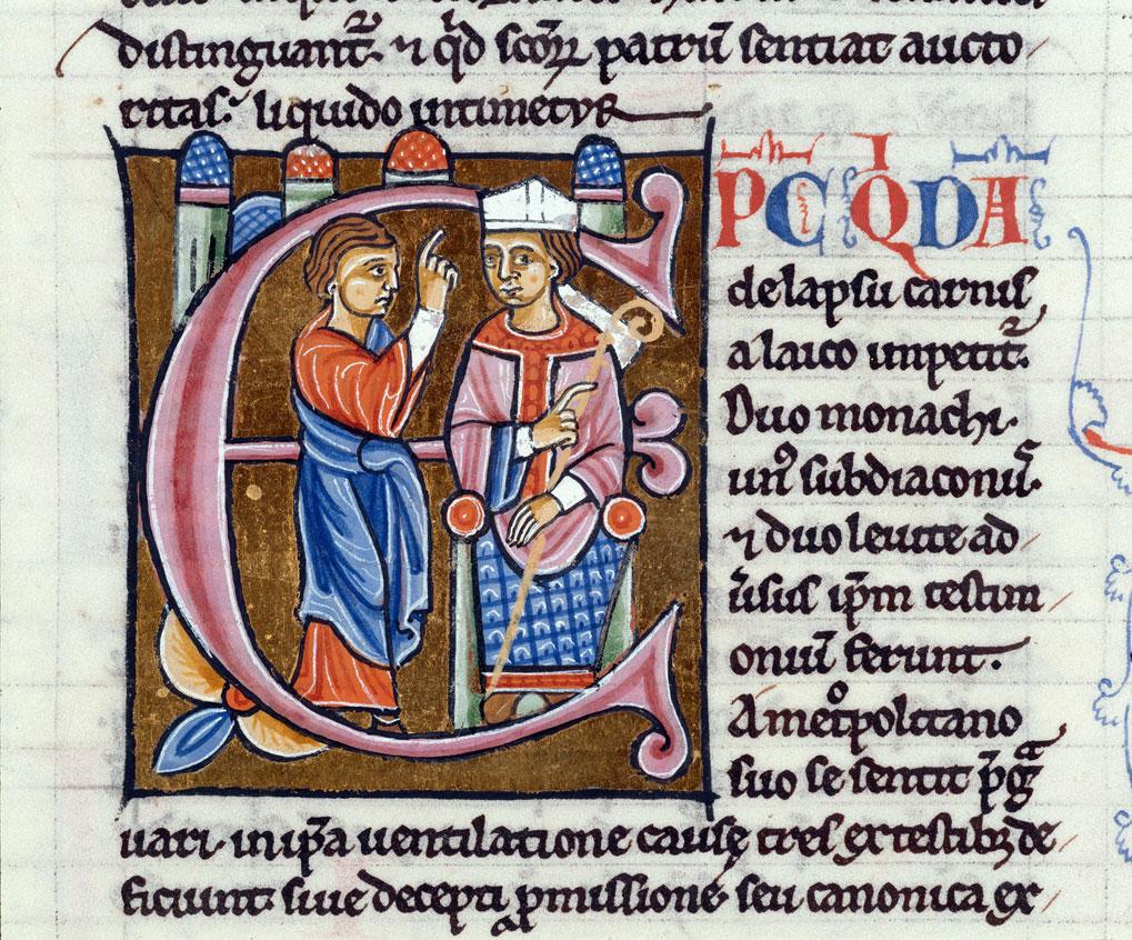 Decretum - Evêque accusé par un laïc du péché de chair_0