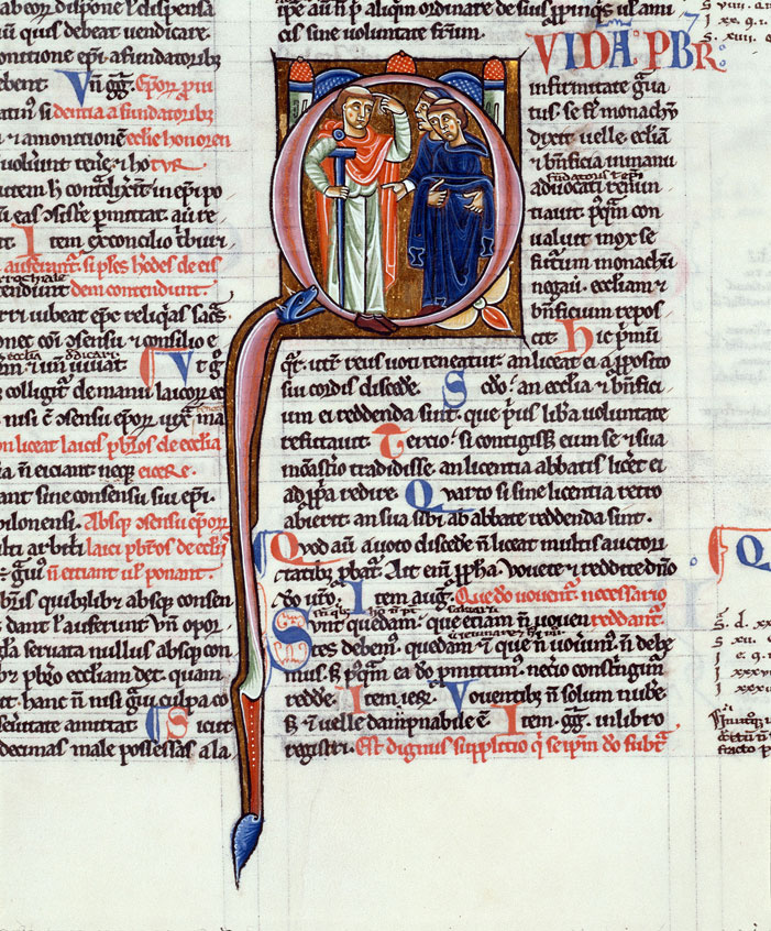 Decretum - Prêtre malade renonçant à sa charge et prenant l'habit monastique_0
