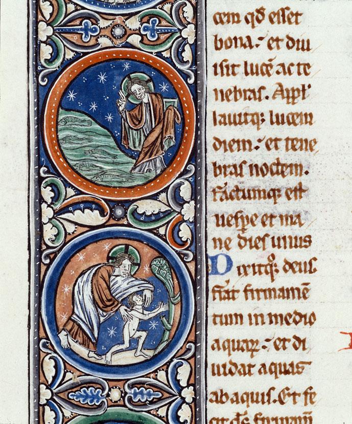 Bible - Création des poissons/Création d'Adam_0