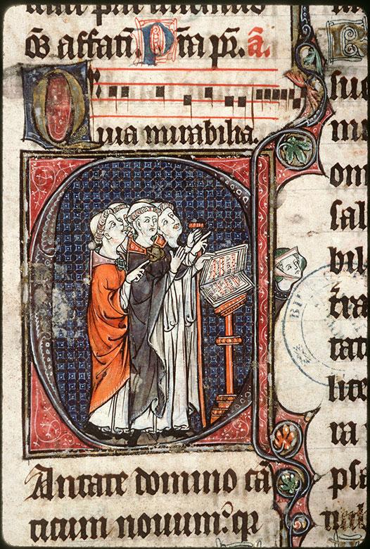 Psautier à l'usage d'Amiens