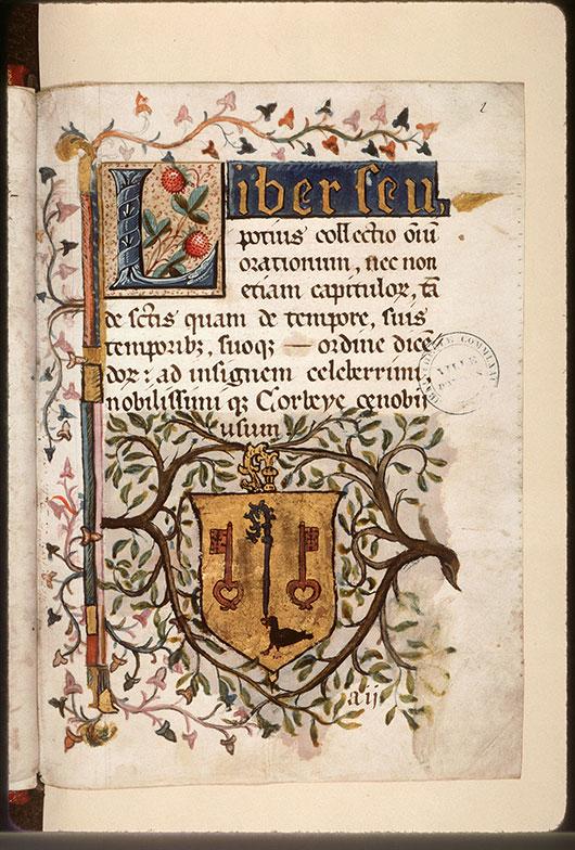 Collectaire à l'usage de l'abbaye Saint-Pierre de Corbie