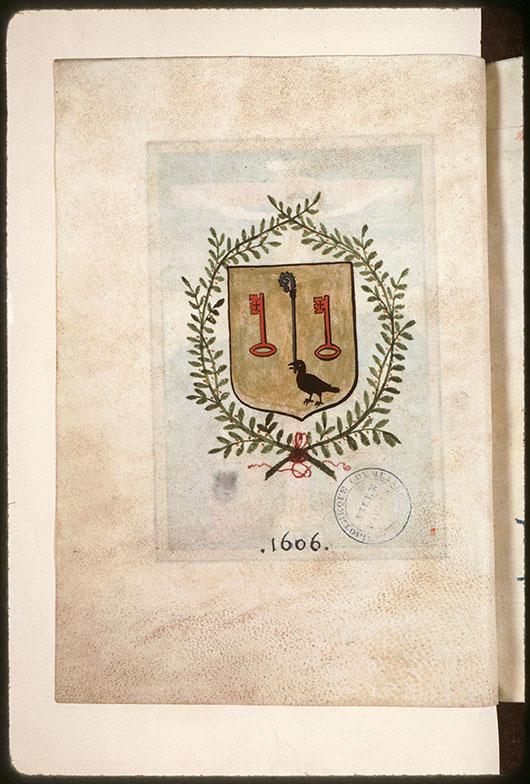 Collectaire à l'usage de l'abbaye Saint-Pierre de Corbie - Armes de l'abbaye de Corbie_0
