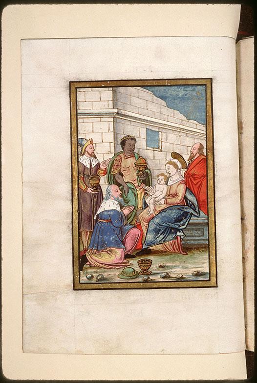 Collectaire à l'usage de l'abbaye Saint-Pierre de Corbie - Adoration des Mages_0