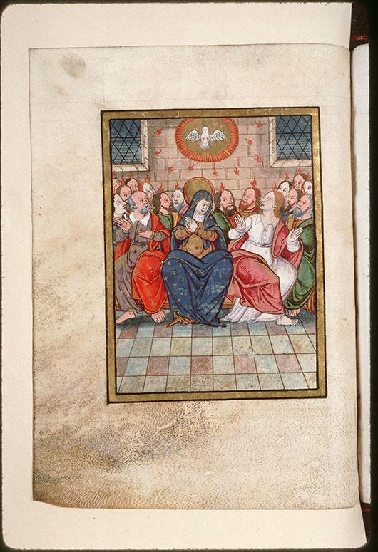 Collectaire à l'usage de l'abbaye Saint-Pierre de Corbie - Pentecôte_0