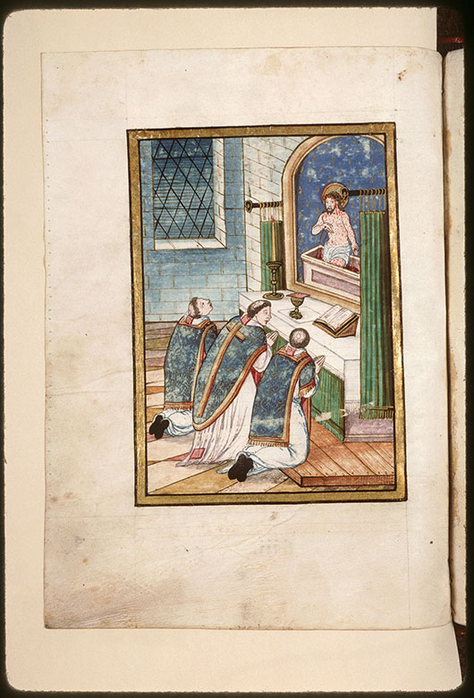 Collectaire à l'usage de l'abbaye Saint-Pierre de Corbie - Messe de saint Grégoire_0