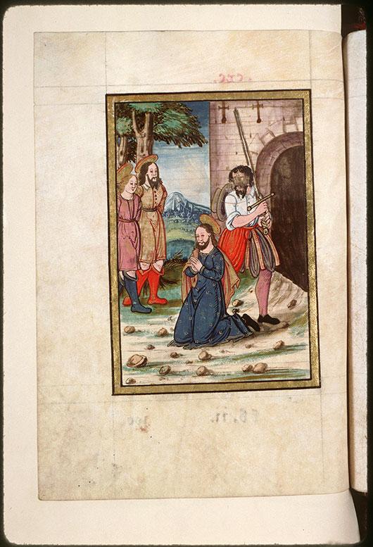 Collectaire à l'usage de l'abbaye Saint-Pierre de Corbie - Décollation des saints Fuscien, Victoric et Gentien_0