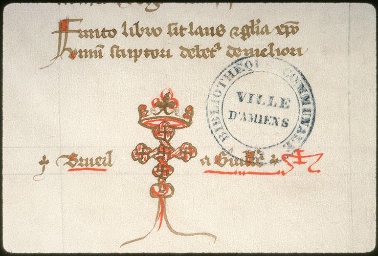 Novella in Decretales Gregorii VIIII - Seing de Guillaume de Breuil_0