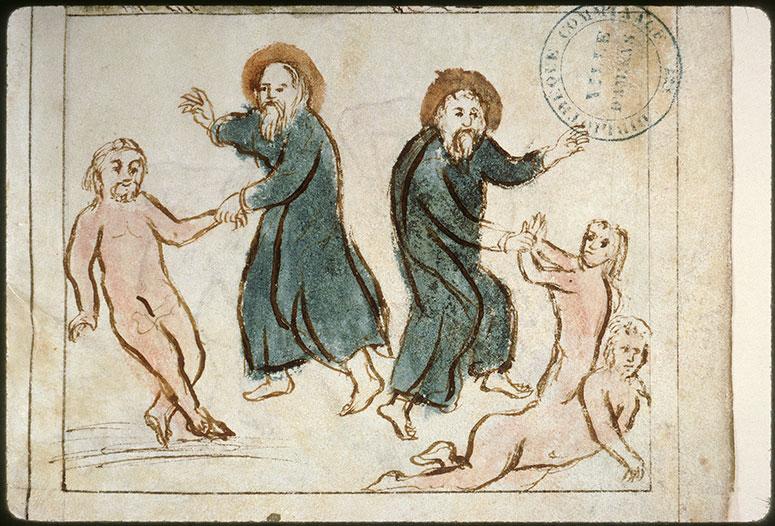 Bible en images - Création d'Adam/Création d'Eve_0