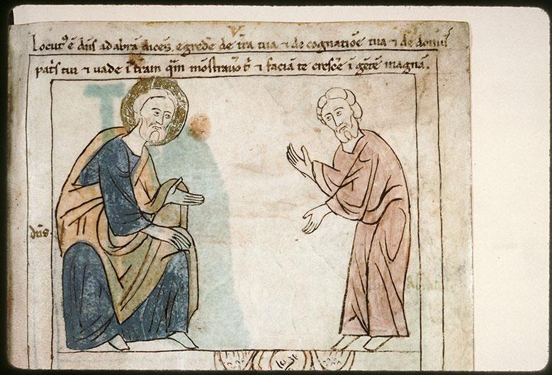 Bible en images - Vocation d'Abraham_0