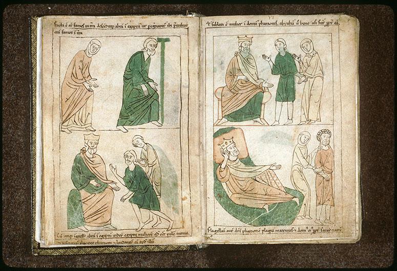 Bible en images - Abraham et Sara allant en Egypte_0
