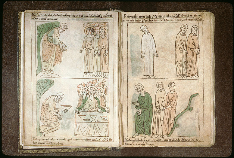Bible en images - Femme de Lot changée en statue de sel (La)_0
