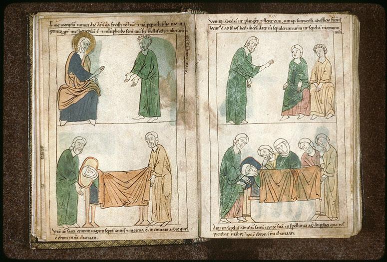 Bible en images - Dieu parlant à Abraham après le sacrifice d'Isaac_0