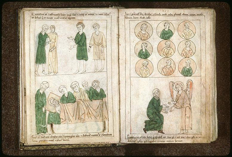 Bible en images - Descendance d'Abraham_0