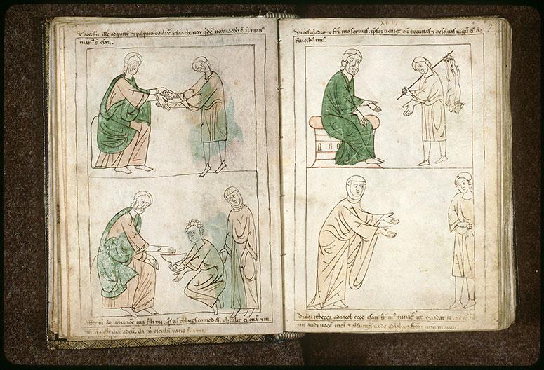 Bible en images - Jacob servant Isaac_0