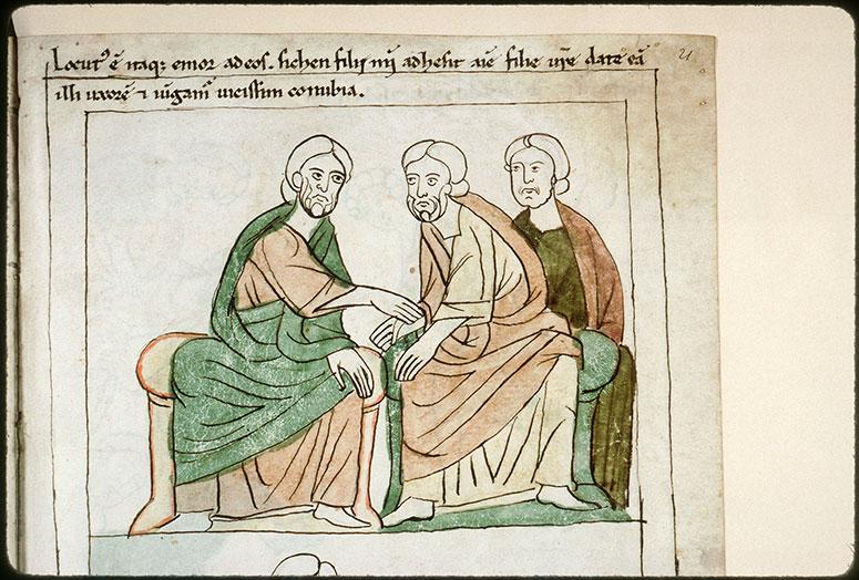 Bible en images - Accord matrimonial entre Jacob, Hamor et son fils Sichem_0