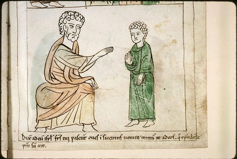 Bible en images - Jacob envoyant Joseph voir ses frères_0