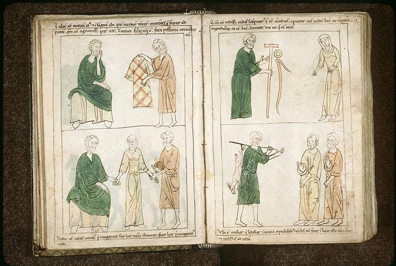 Bible en images - Tunique de Joseph apportée à Jacob_0