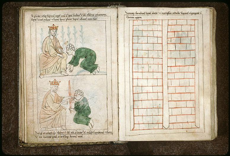 Bible en images - Joseph interprétant le songe de Pharaon_0