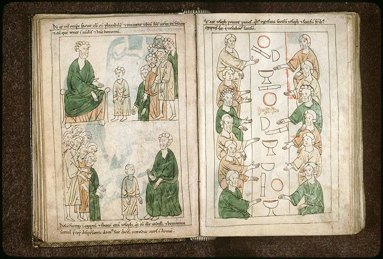 Bible en images - Deuxième rencontre de Joseph et de ses frères_0
