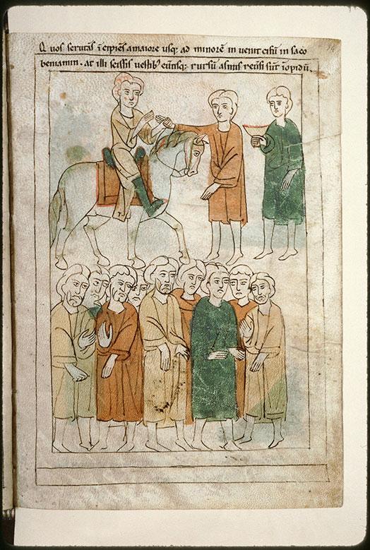 Bible en images - Arrestation des frères de Joseph_0