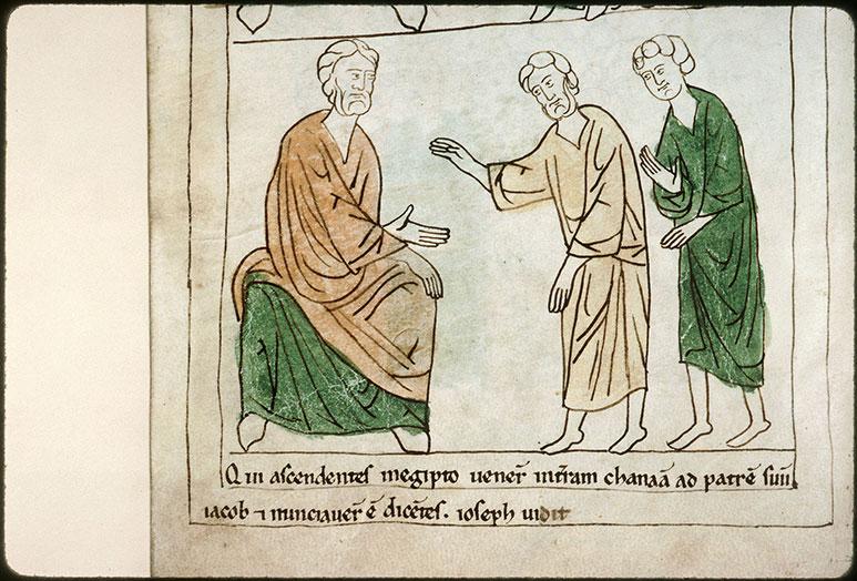 Bible en images - Jacob apprenant que Joseph est en vie_0