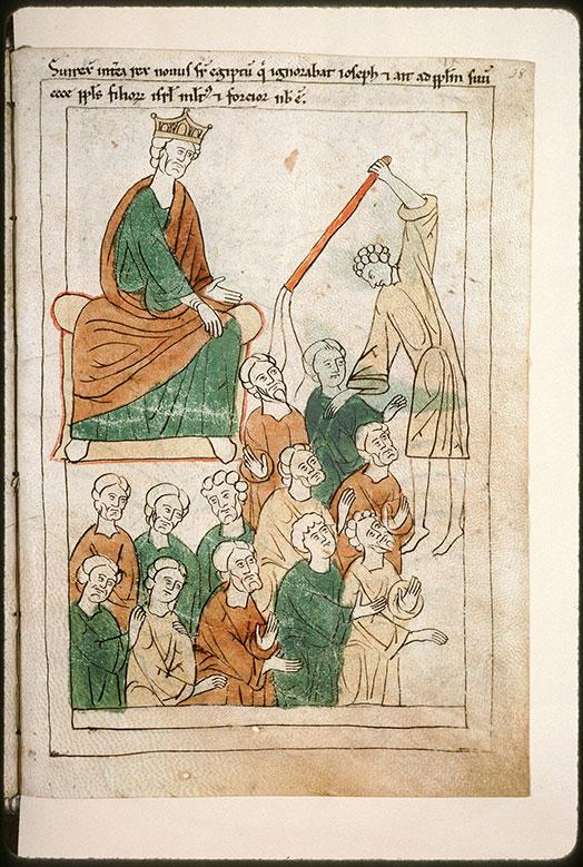 Bible en images - Pharaon ordonnant l'oppression des Hébreux_0