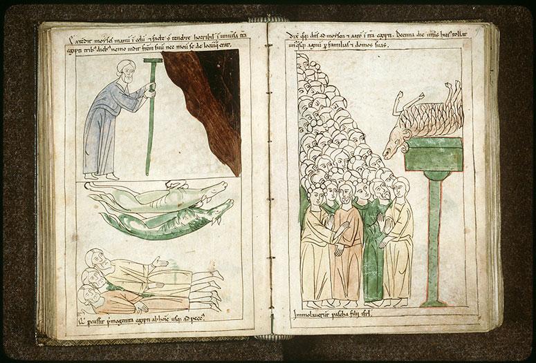 Bible en images - Dixième plaie d'Egypte : la mort des premiers-nés_0