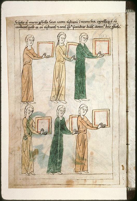 Bible en images - Miryam et femmes chantant et dansant la victoire_0