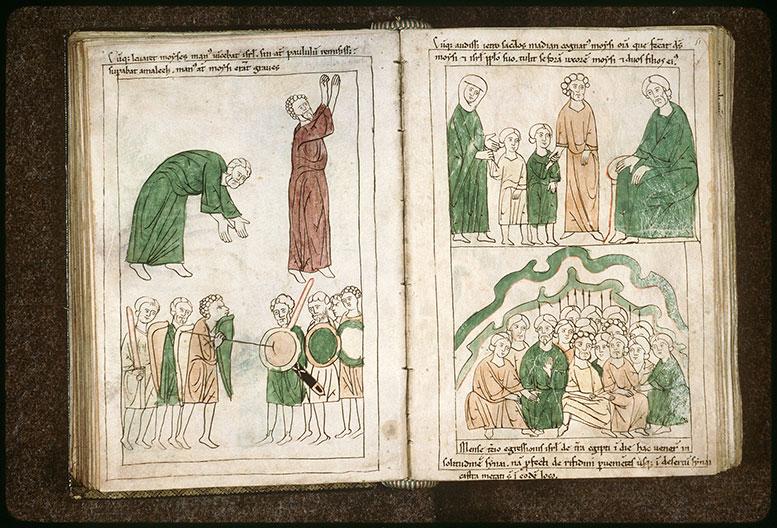 Bible en images - Bataille contre Amaleq_0