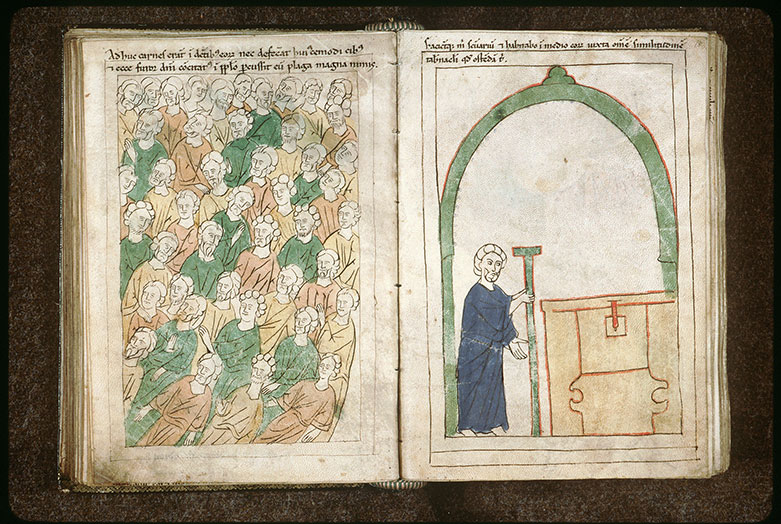 Bible en images - Peuple frappé d'une plaie aux 'Tombes de la convoitise'_0